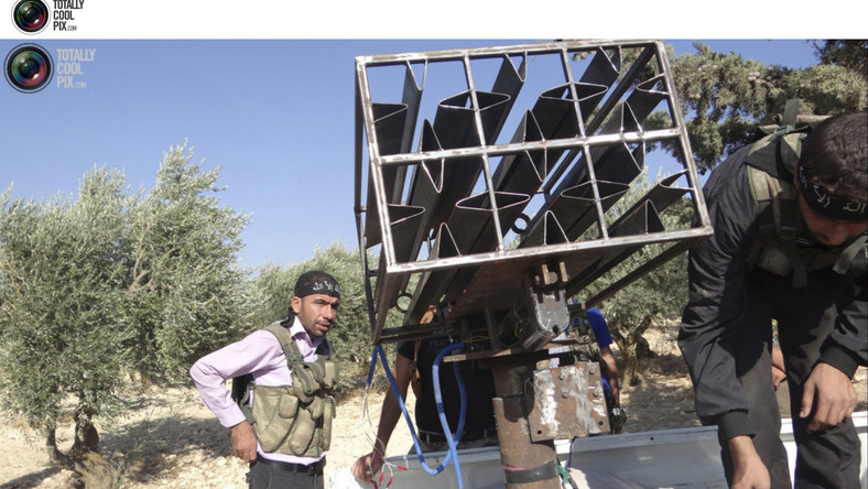 Broń syryjskich rebeliantów