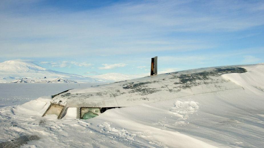 Pegasus na Antarktydzie