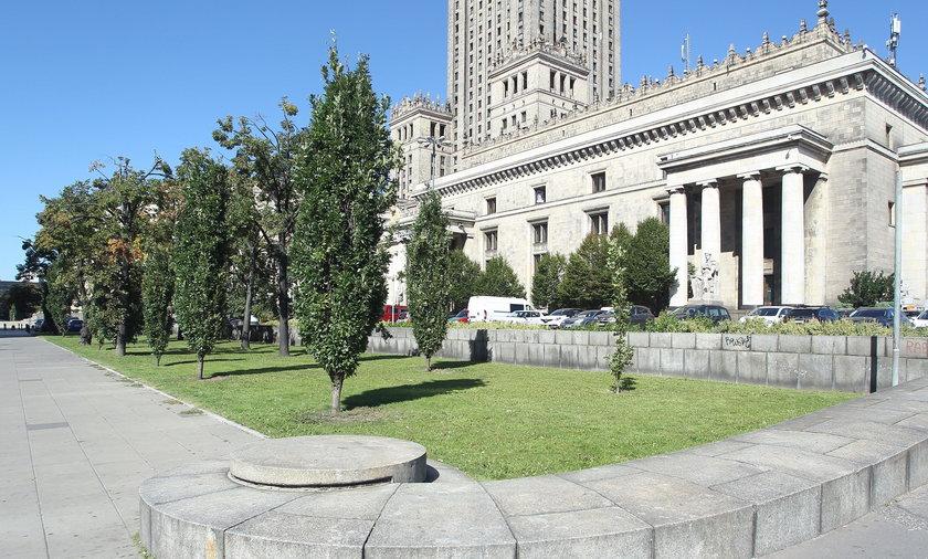 Jest decyzja ws. działki przy Pałacu Kultury i Nauki