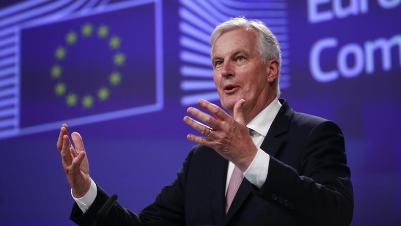 Michel Barnier, negocjator Unii ds. Brexitu.