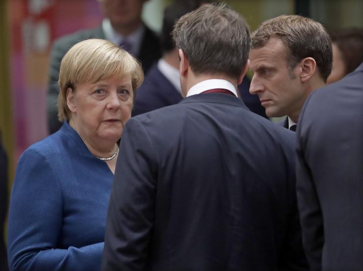 Angela Merkel Emanuel Makron