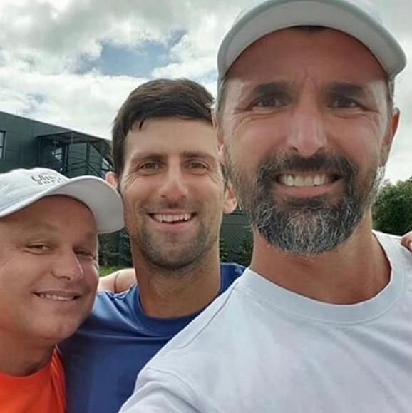 Tim Đoković: Novak, Goran Ivanišević i Marjan Vajda