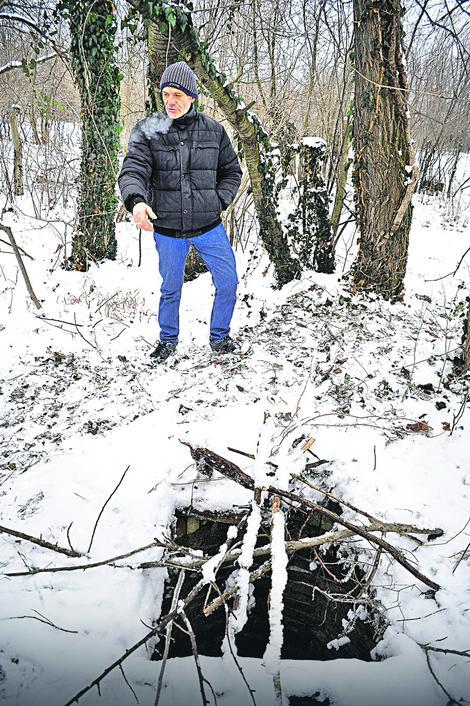 U čudu: Goran Marković slučajno je našao Jezdimira u bunaru
