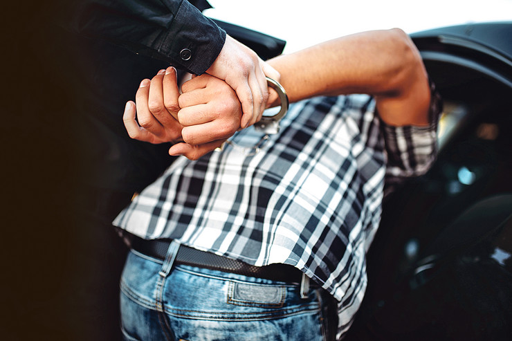 Hapšenje pokrivalica