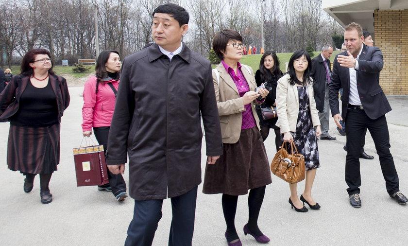Chińczycy na osiedlu tysiąclecia