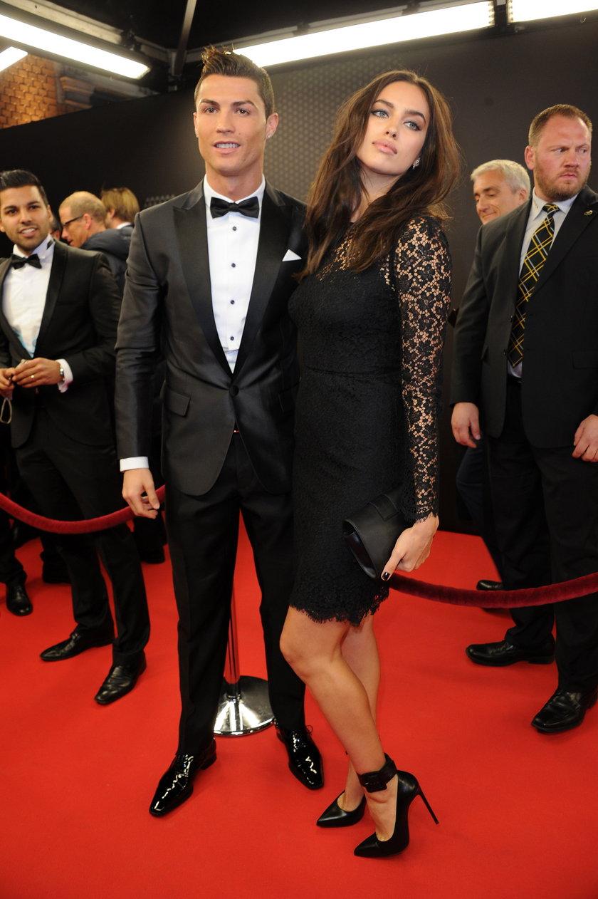 Irina Shayk i Cristiano Ronaldo