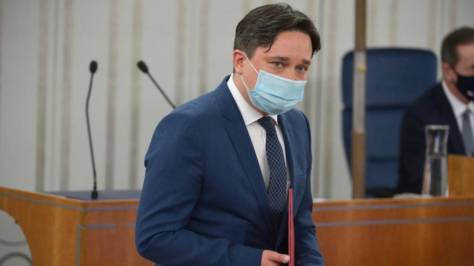Marcin Wiącek złożył ślubowanie przed Sejmem