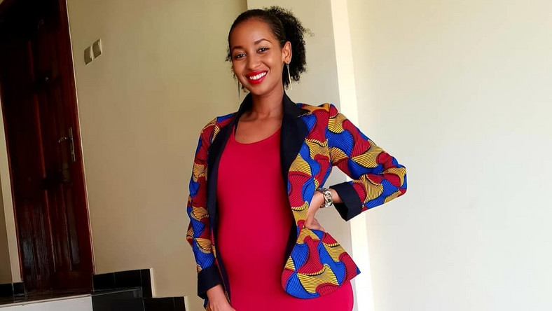 6270ea88b34fb 7 photos of Sarah Hassan slaying maternity style - Pulse Live Kenya