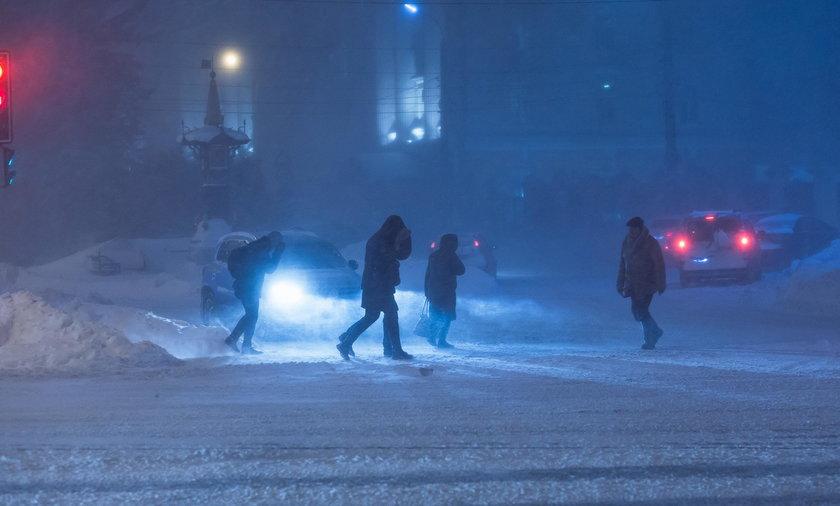 Atak zimy trwa