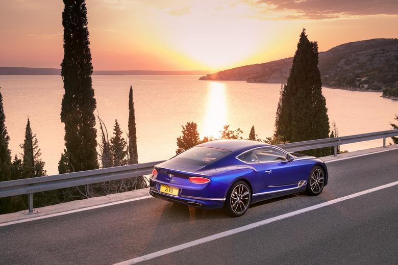 Nowy Bentley Continental GT