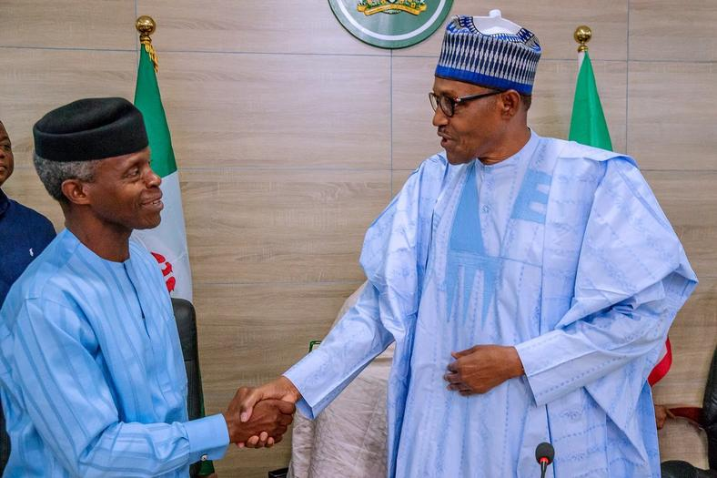 Buhari and Vice President Osinbajo have been a tag team (Presidency)