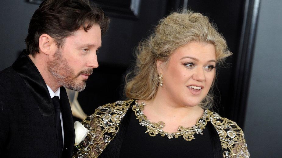 Kelly Clarkson z byłym mężem