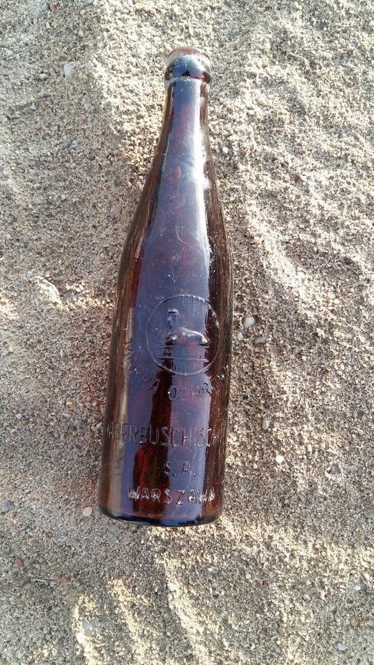 Butelka z browaru Haberbusch und Schiele
