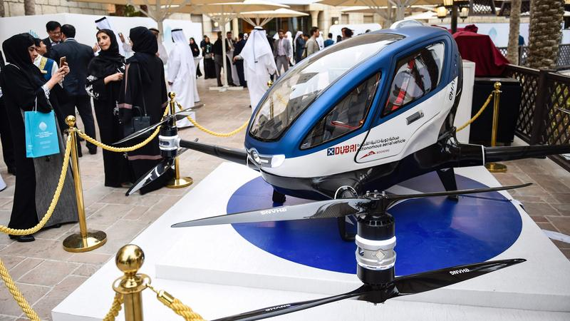 W Dubaju zadebiutuje pierwszy gotowy pasażerski dron