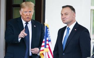 Prezydent Duda w Waszyngtonie: Nie chcemy, by USA wycofywały wojska z Europy