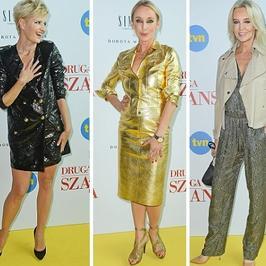 Gwiazdy w eleganckim stylu na pokazie mody Doroty Williams. Kożuchowska zachwyciła, ale wszyscy patrzyli tylko na...
