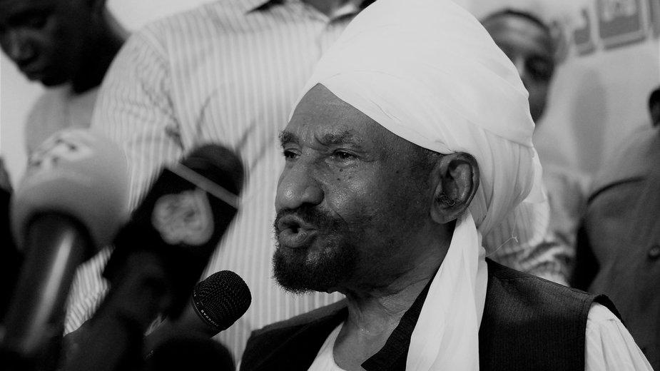 Nie żyje Sadik al-Mahdi