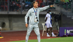 Milutin Sredojevic was in charge of Zambia during the African Nations Championships in January Creator: Daniel BELOUMOU OLOMO