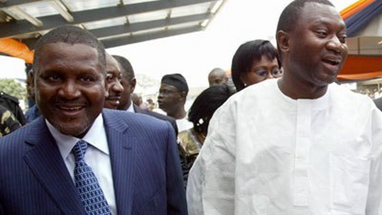 Aliko Dangote is Africa's richest man but Femi Otedola is the king of Instagram
