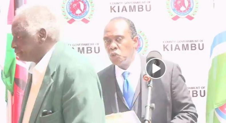 Kiambu billionaires led by Uhuru's uncle George Muhoho swing to action after William Ruto's food donation