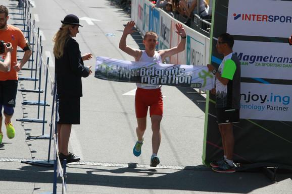Kristijan Stošić je najsporiji pobednik Beogradskog maratona svih vremena