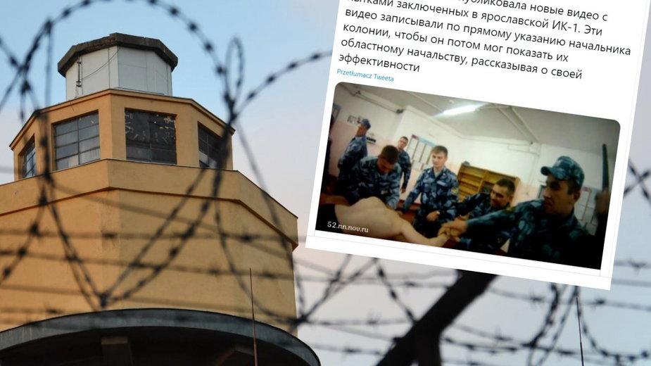 Rosja: Tortury w kolonii karnej. Niezależne media publikują nagranie