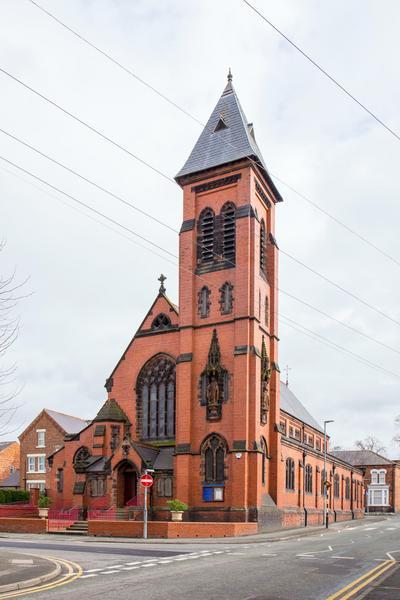 Kościół św. Marii, Crewe