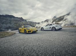 Porsche 718 Spyder i 718 Cayman GT4 z wolnossącym bokserem