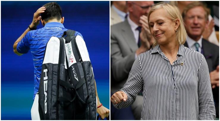Novak Đoković, Martina Navratilova