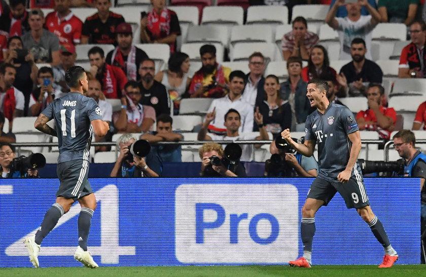 Gol Lewandowskiego. Czerwona kartka i łzy Ronaldo