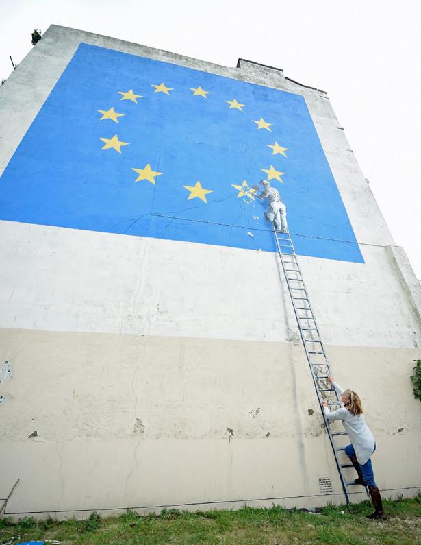 Brexit według Banksy'ego