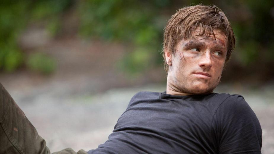 """Josh Hutcherson jako Peeta w serii """"Igrzyska śmierci"""""""