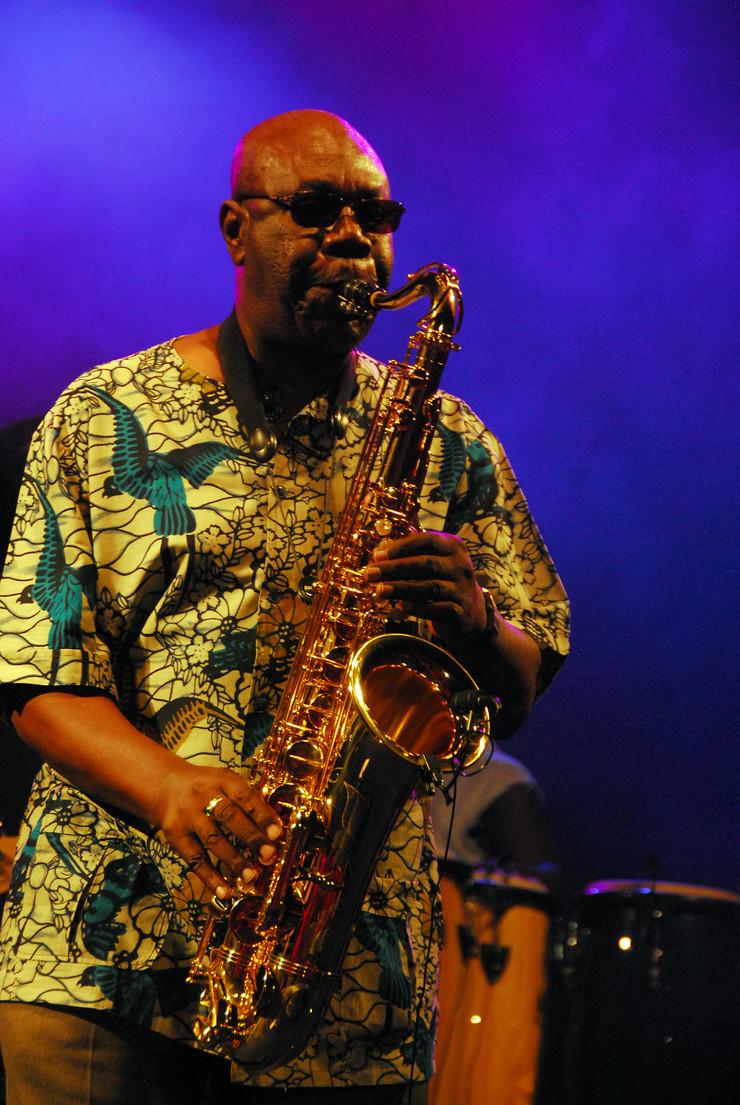 Manu Dibango na Nisville 2010 godine