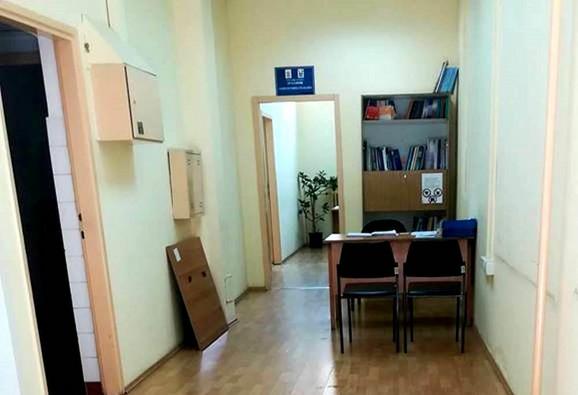 Kancelaraija, odnosno ćoškić niškog zaštitnika građana gde prima građane