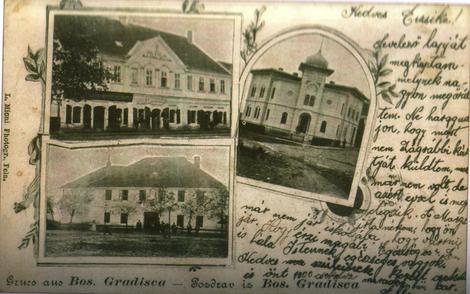 Najstarija sačuvana razglednica iz Gradiške