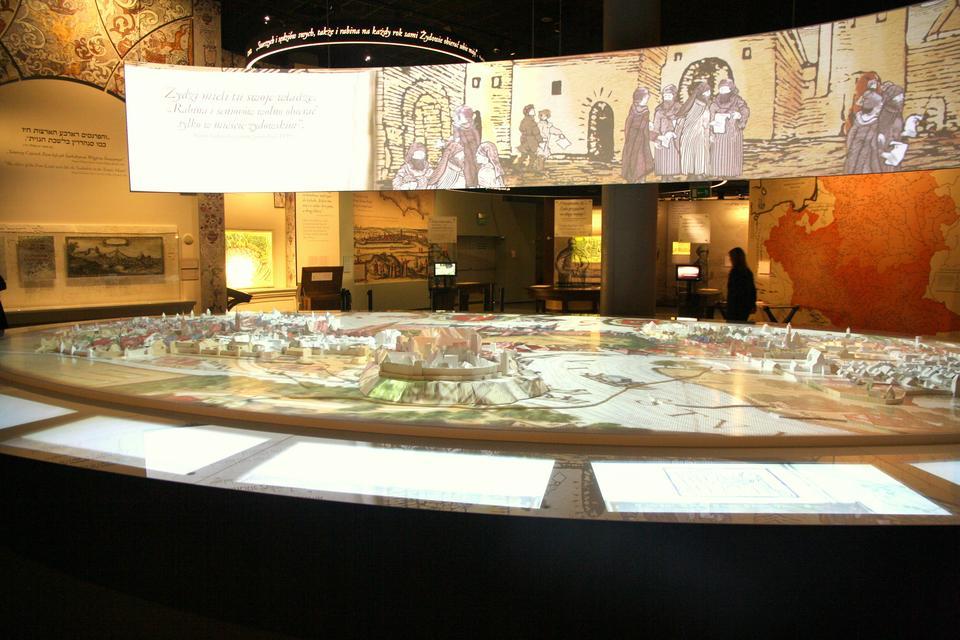 Wystawa w Muzeum Historii Żydów Polskich Polin