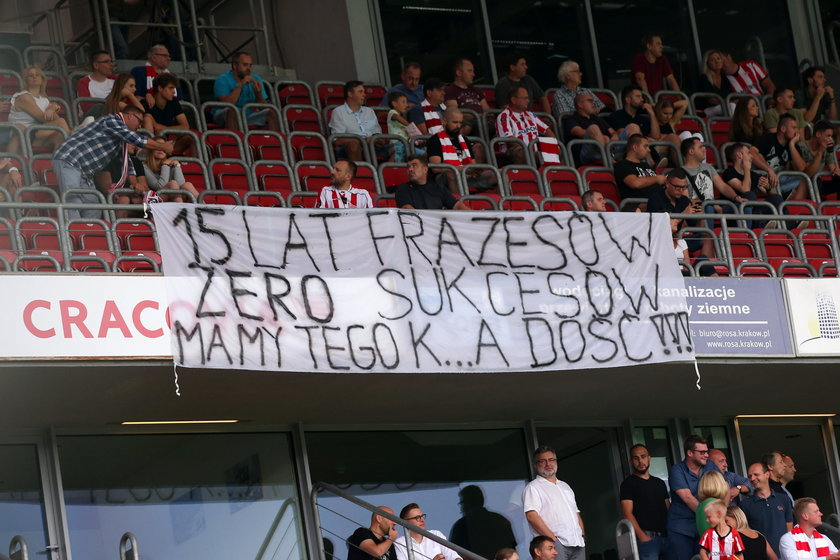 Pilka nozna. Ekstraklasa. Cracovia Krakow - Wisla Plock. 22.09.2018