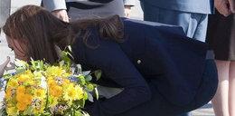 Spodnie Kate trzeszczały w szwach