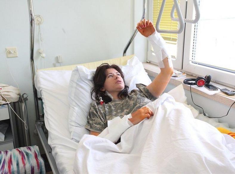Luiza Urszula Kobyłecka trafiła do szpitala MSWiA