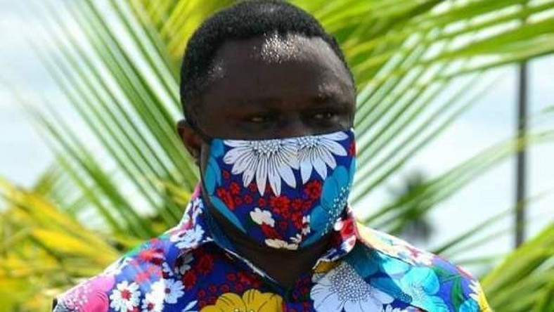 Governor Ben Ayade of Cross River has turned the use of face masks into a fashion statement (Cross River govt)