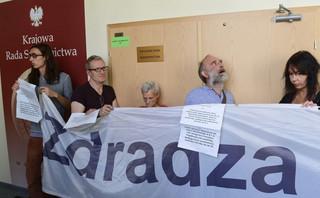 Wiceminister sprawiedliwości o proteście w KRS: To raczej hucpa