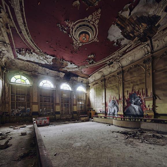 Napušteno pozorište u kom predstava nije odigrana decenijama