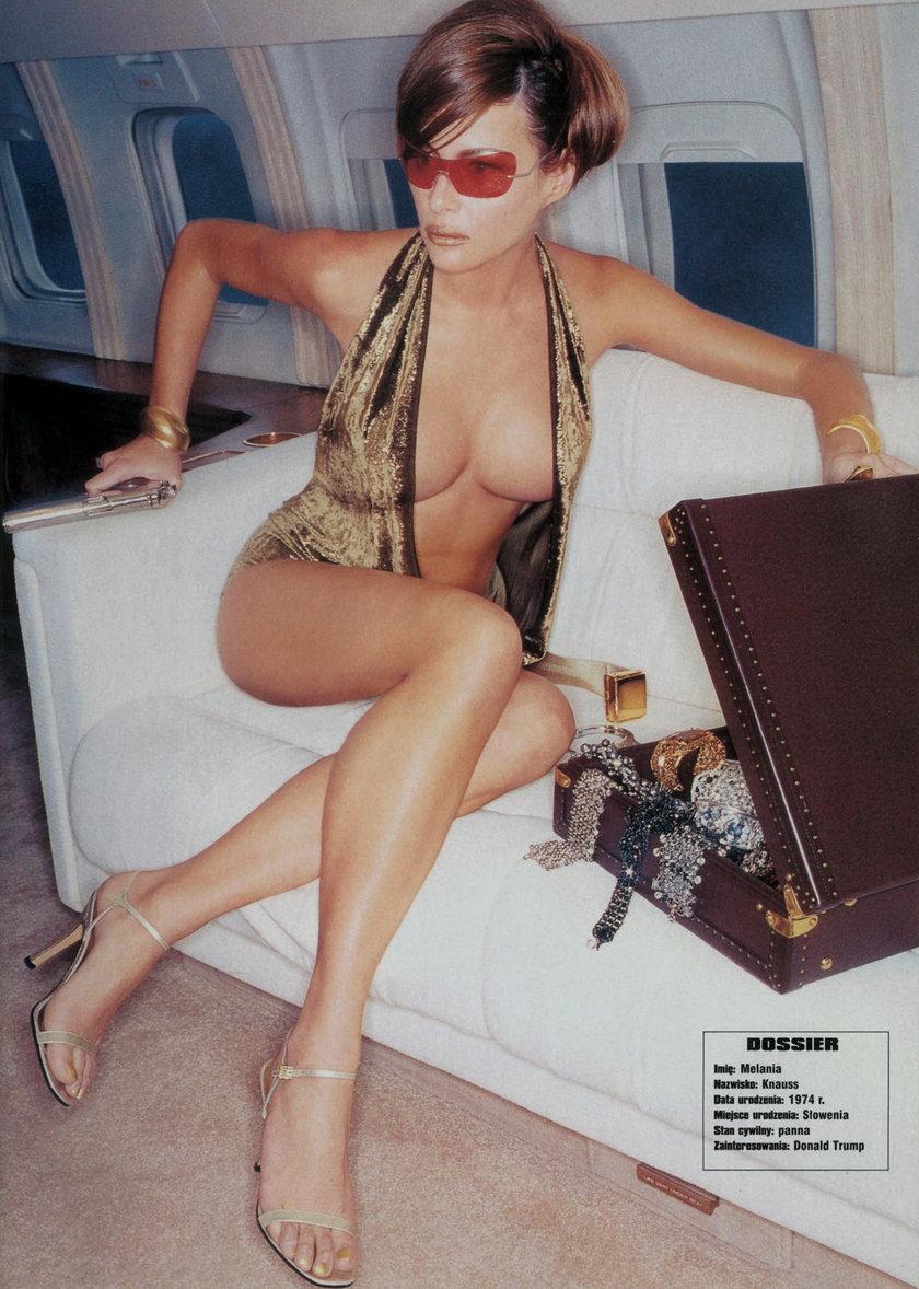 Melania Trump, sesja dla GQ