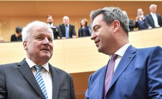 Niemcy: Seehofer zapowiada rezygnację ze stanowisk szefa CSU i MSW