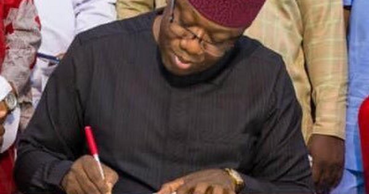 Fayemi goes tough on gender-based violence, signs 6 Bills Into Law - Pulse Nigeria