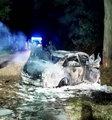 Wypadek w Romanowie. Cztery osoby zginęły na miejscu, to były jeszcze dzieci