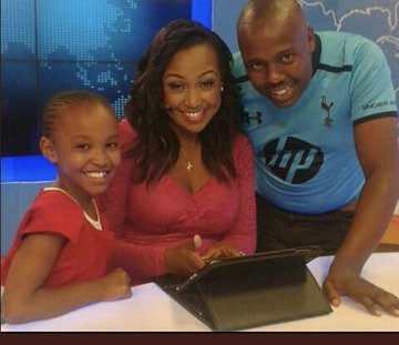Wendy Waeni, Betty Kyallo and Joe Mwangi