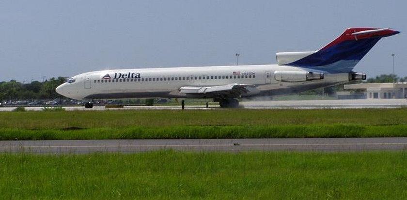 Dziwne zjawisko w samolocie. Na pasażerów padł blady strach