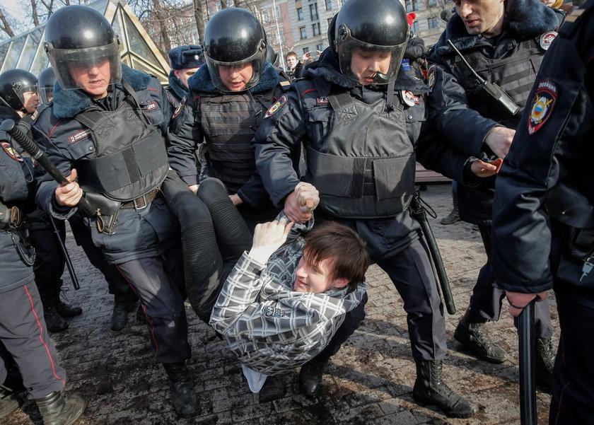 Zamieszki w Rosji