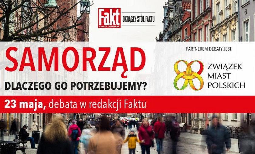 Debata Faktu ze Związkiem Miast Polskich o roli samorządów w Polsce